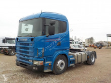 tracteur Scania 124-400 (HYDRAULIC PUMP / MANUAL GEARBOX)
