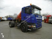Scania R420 CR16 Kran Funk 14,4m Schaltgetriebe PK18500 tractor unit