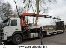 cabeza tractora Volvo FM 420/ Kran PK 20002/ Tieflader