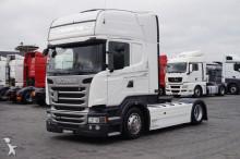 Scania R 450 / EURO 6 / LOW DECK / RETARDER / MEGA tractor unit