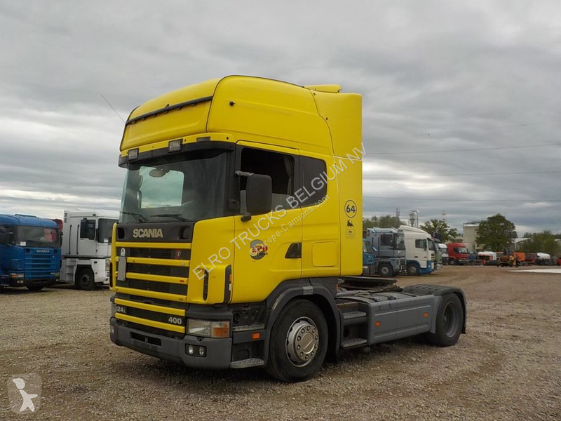 Prime Used Scania Standard Tractor Unit 124 400 Topline Manual Wiring Cloud Staixuggs Outletorg