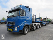 Volvo heavy equipment transport tractor-trailer