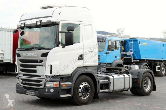Ciągnik siodłowy Scania R 420 / RETARDER/MANUAL/EURO 5 / HIGHLINE