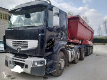 ensemble routier benne Renault