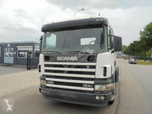 Scania 124 420 (RETARDER - KIPHYDRAULIEK - MANUAL GEARBOX) tractor unit