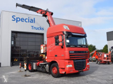 tracteur DAF 105.460 Super space cab + Fassi F260XP