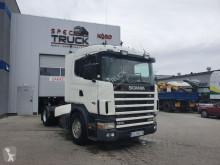 cabeza tractora Scania L124.470, Steel /Air