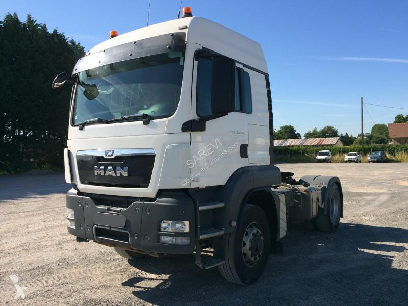 View images MAN 18-440  4H4 HYDRAULIQUE tractor unit