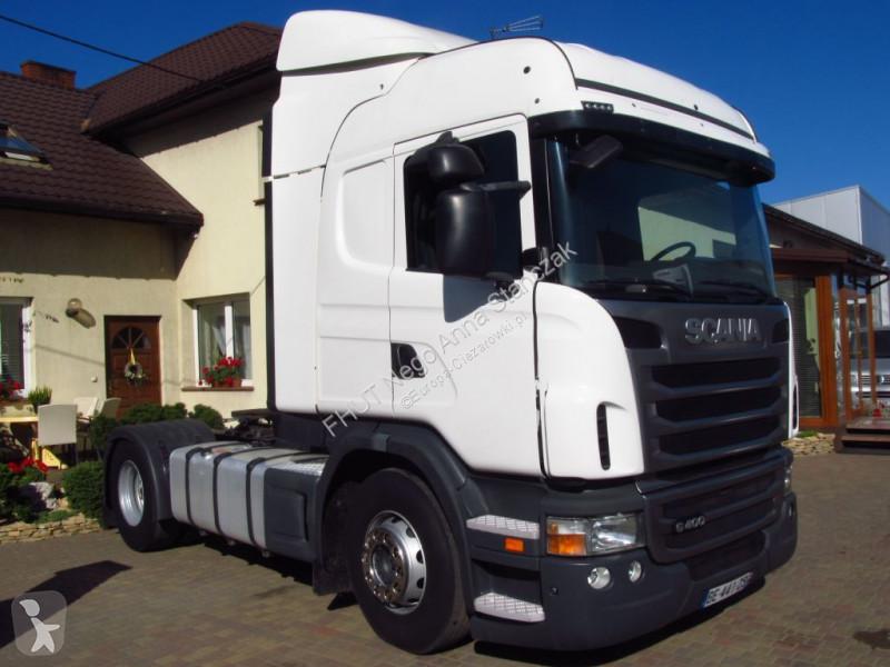 Zobaczyć zdjęcia Ciągnik siodłowy Scania -  G400 HIGHLINE EUO-5 ETADE *2011*