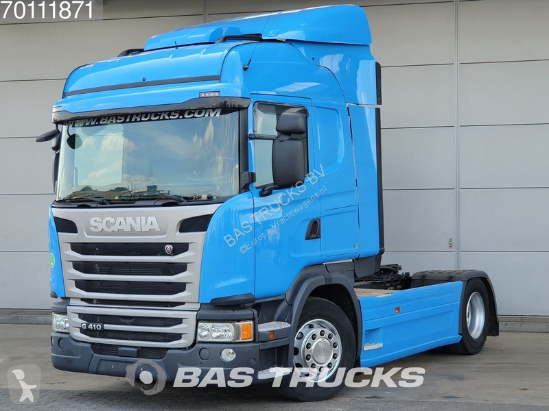 Used Scania tractor units NETHERLANDS