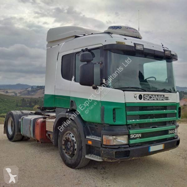 Used tractor units