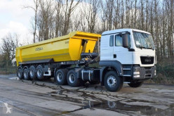 ensemble routier MAN TGS 33.400 icw 4 axle tipper