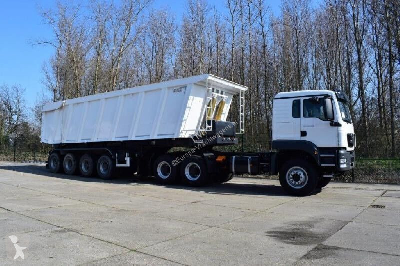 Voir les photos Ensemble routier MAN TGS 40.480 icw 60 cbm bauxite tipper