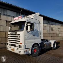 Scania verkocht,sold ,verkauft 143 M 450 Streamliner V8 met APK tractor unit
