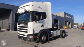 ciągnik siodłowy Scania 124 - 420 Topline (MANUAL GEARBOX / BOITE MANUELLE)