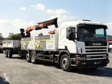 kamion s návěsem plošina Scania