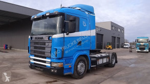 tracteur Scania 114 - 380 (MANUAL GEARBOX / BOITE MANUELLE / HYDRAULIC)