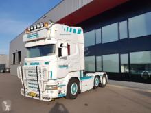 tracteur Scania Sold verkocht verkauft R 500 A 6X2/4 manual retarder