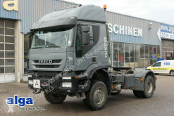 tracteur Iveco AT400T45WT 4x4, Hydr., Blattfederung, Intarder