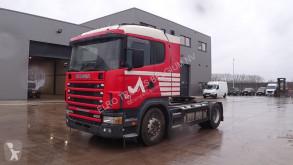 Scania 124 - 400 (MANUAL PUMP & GEARBOX / POMPE ET BOITE MANUELLE) Sattelzugmaschine