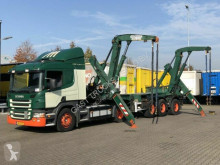 ensemble routier porte containers Scania