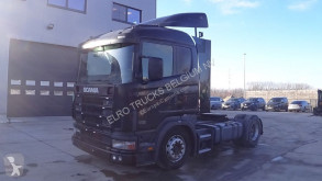 ciągnik siodłowy Scania 124 - 420 (MANUAL GEARBOX / BOITE MANUELLE)