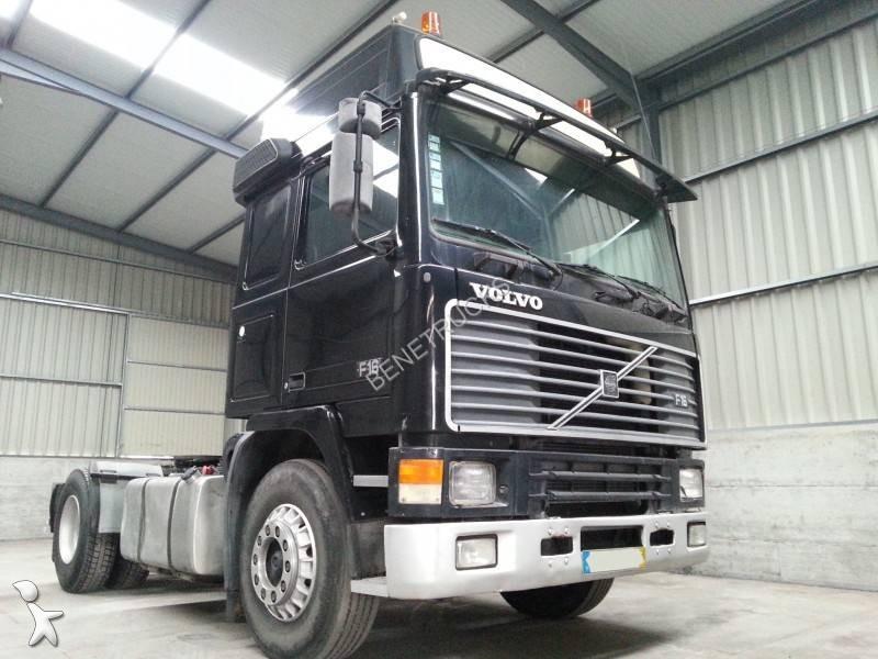 used volvo f16 standard tractor unit 4x2 diesel hydraulic system n 829160. Black Bedroom Furniture Sets. Home Design Ideas