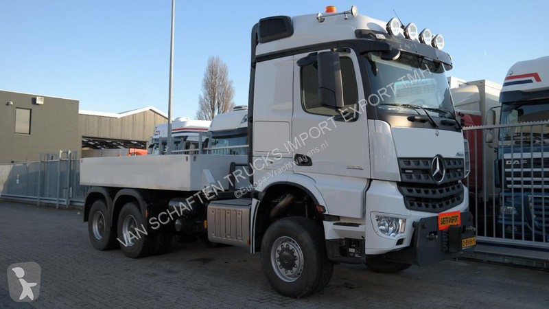 tracteur mercedes standard arocs 6x6 gazoil euro 6 occasion n 2119439. Black Bedroom Furniture Sets. Home Design Ideas