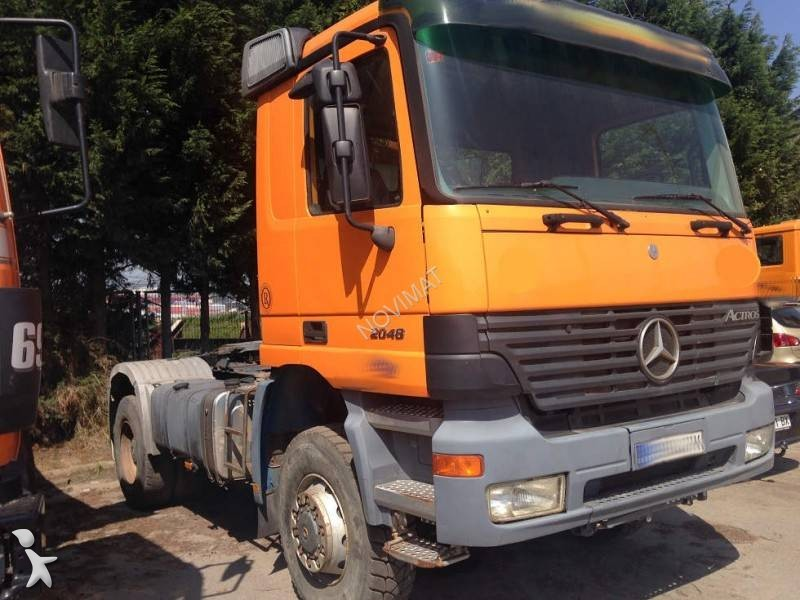 Used Mercedes Actros standard tractor unit 2048 4x4 Diesel Euro 3