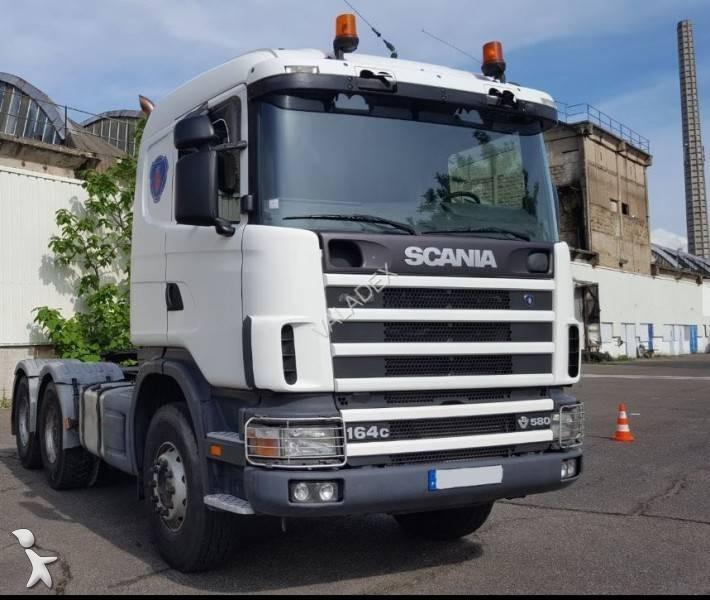 tracteur convoi exceptionnel occasion scania r 164r580 gazoil