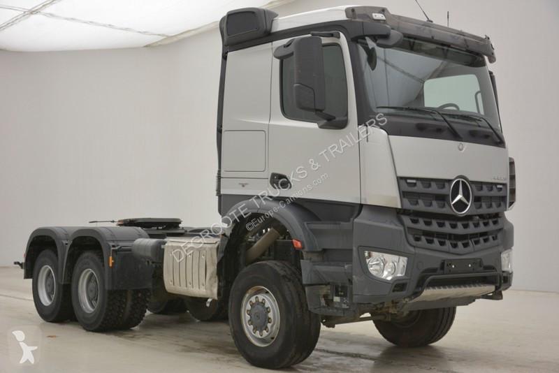 tracteur mercedes standard arocs 6x6 gazoil euro 6 occasion n 2119942. Black Bedroom Furniture Sets. Home Design Ideas