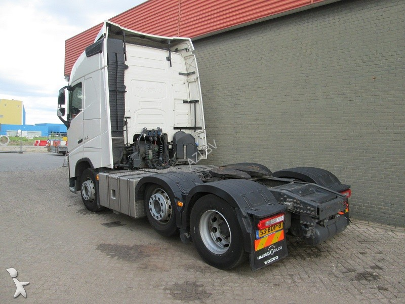 used volvo tractor unit fh 460 6x2 euro6 6x2 diesel euro 6 n 2214043. Black Bedroom Furniture Sets. Home Design Ideas