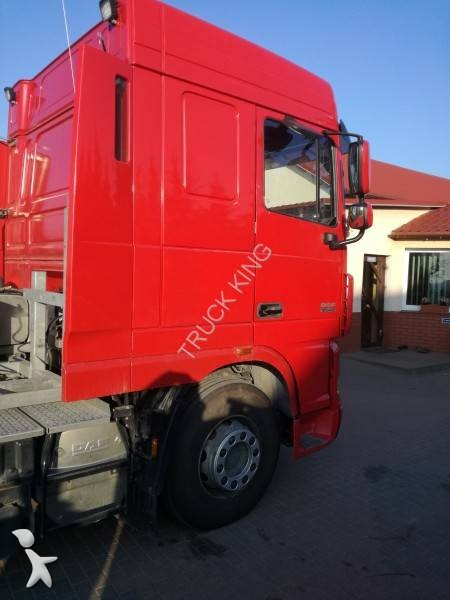 tracteur daf convoi exceptionnel xf105 460 6x4 euro 5