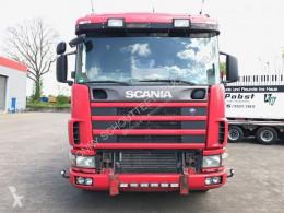 tracteur Scania standard R164 GA6x4NZ 480 R164 GA6x4NZ 480 mit Bullbar, Retarder, Hydraulik 6x4 Gazoil Euro 3 Système hydraulique occasion - n°2674728 - Photo 2