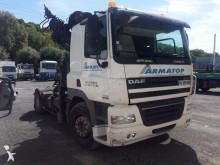 used DAF CF85 standard tractor unit 460 4x2 Diesel Euro 4 crane - n°2849303 - Picture 2