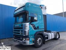 Voir les photos Tracteur Scania 124 420 Topline, Manual, Retarder, Analoge tachograaf