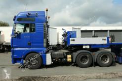 Voir les photos Tracteur MAN 26.530 TGA mit Tieflader, Tiefbett, Teleskop.