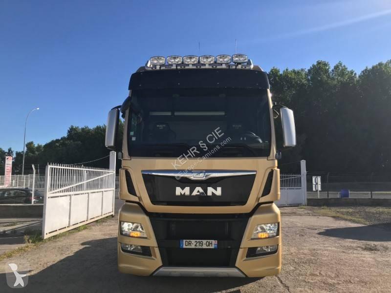 Used MAN TGX standard tractor unit 18 560 4x2 Diesel Euro 6 Hydraulic  system - n°3343043