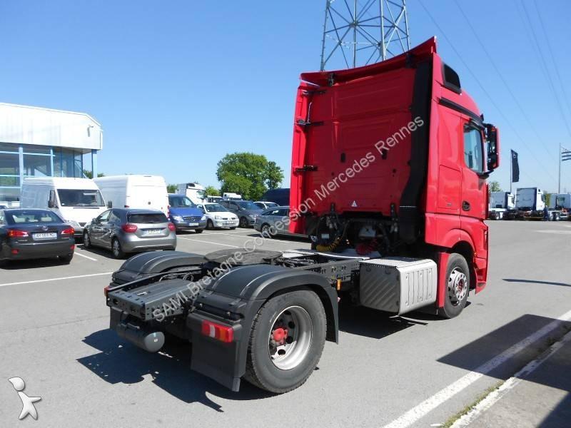 tracteur mercedes standard actros 1851 lsn 37 4x2 gazoil euro 5 occasion n 2020409. Black Bedroom Furniture Sets. Home Design Ideas