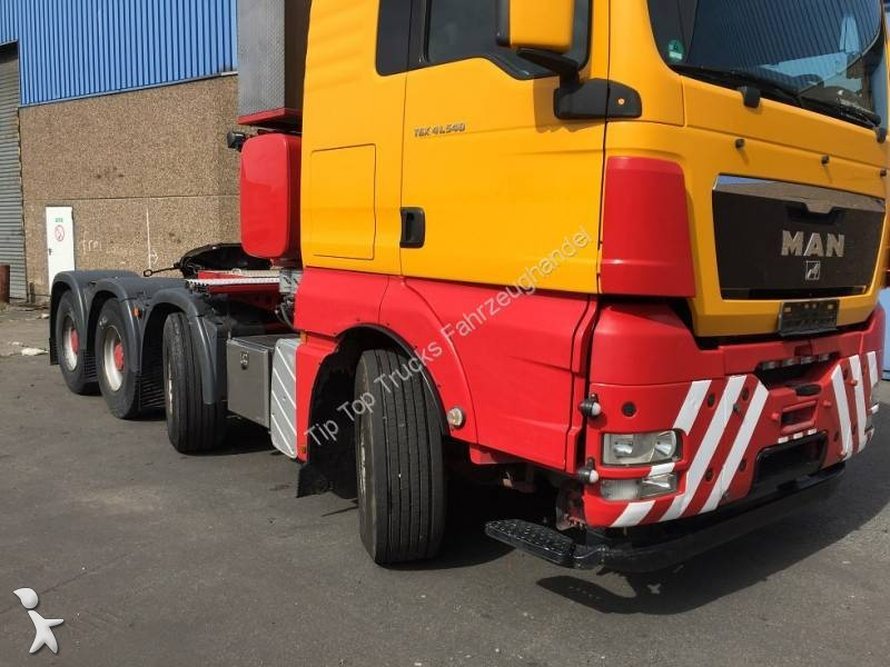 tracteur man convoi exceptionnel tgx 8x4 euro 5 occasion