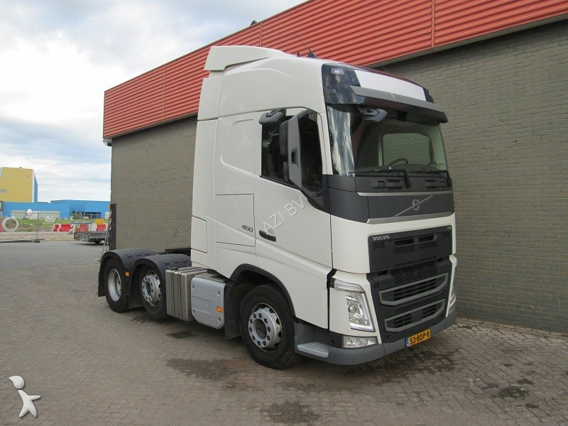 tracteur volvo fh 460 6x2 euro6 6x2 gazoil euro 6 occasion n 2214043. Black Bedroom Furniture Sets. Home Design Ideas