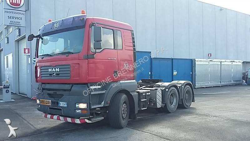 tracteur man convoi exceptionnel euro 3 occasion