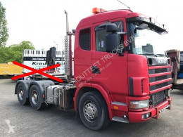 tracteur Scania standard R164 GA6x4NZ 480 R164 GA6x4NZ 480 mit Bullbar, Retarder, Hydraulik 6x4 Gazoil Euro 3 Système hydraulique occasion - n°2674728 - Photo 3