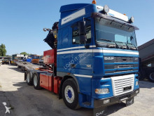 tracteur standard occasion DAF XF95 Gazoil grue - Annonce n°2759851 - Photo 3