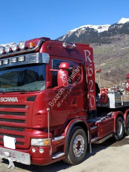 tracteur scania convoi exceptionnel r 620 6x4 gazoil euro