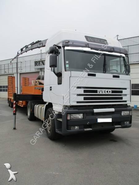 tracteur iveco standard cursor 420 4x2 euro 2 grue syst u00e8me