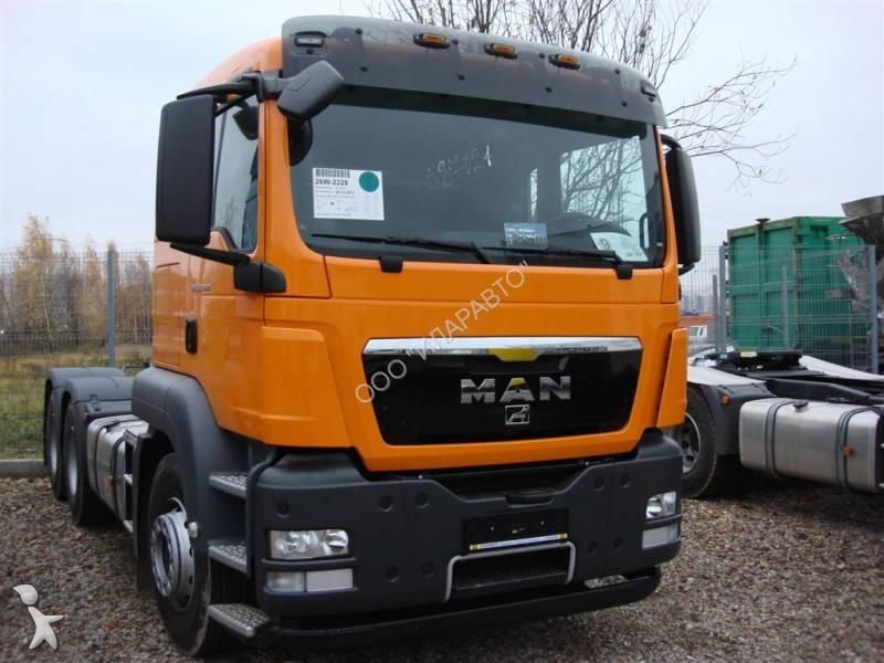 tracteur man standard tgs 33 480 6x4 gazoil euro 4 neuf