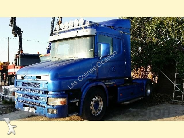 tracteur scania standard 144 v8 euro 2 occasion n 1878639. Black Bedroom Furniture Sets. Home Design Ideas