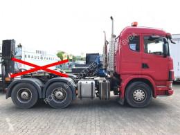 tracteur Scania standard R164 GA6x4NZ 480 R164 GA6x4NZ 480 mit Bullbar, Retarder, Hydraulik 6x4 Gazoil Euro 3 Système hydraulique occasion - n°2674728 - Photo 4