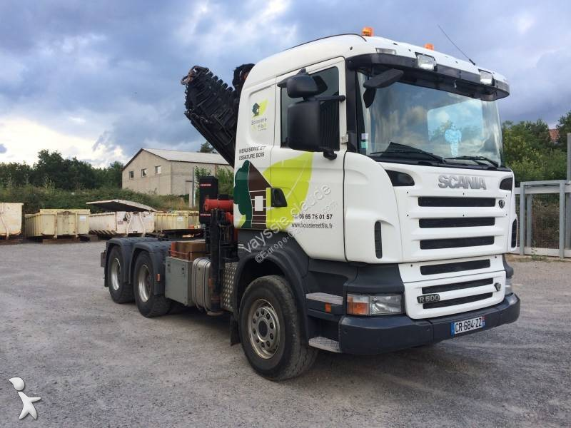 tracteur scania convoi exceptionnel r 500 6x4 gazoil euro